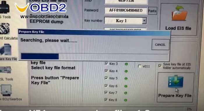 Benz W211 All Key Lost Programming by VVDI Prog and MB Tool (12)