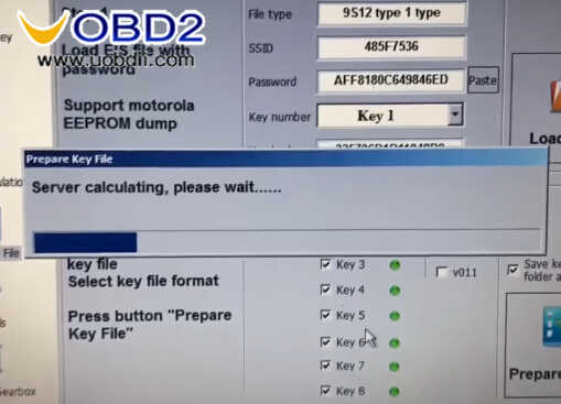 Benz W211 All Key Lost Programming by VVDI Prog and MB Tool (16)