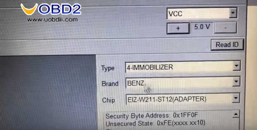 Benz W211 All Key Lost Programming by VVDI Prog and MB Tool (2)