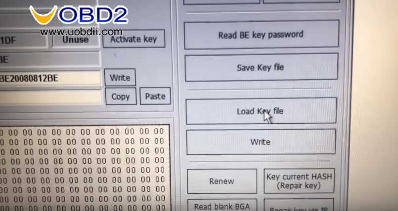 Benz W211 All Key Lost Programming by VVDI Prog and MB Tool (22)