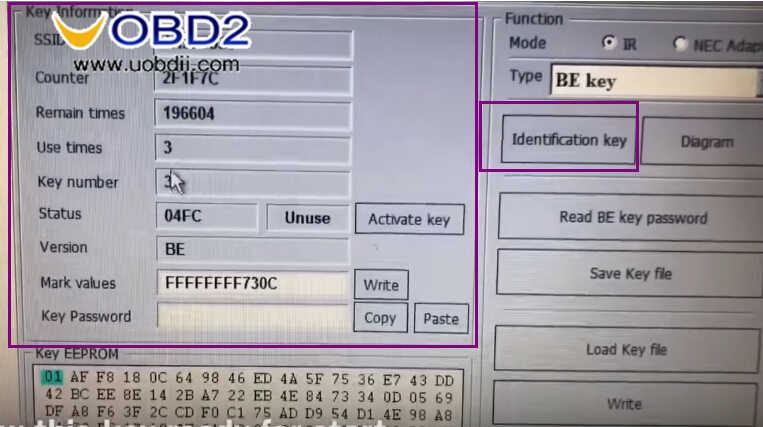 Benz W211 All Key Lost Programming by VVDI Prog and MB Tool (25)