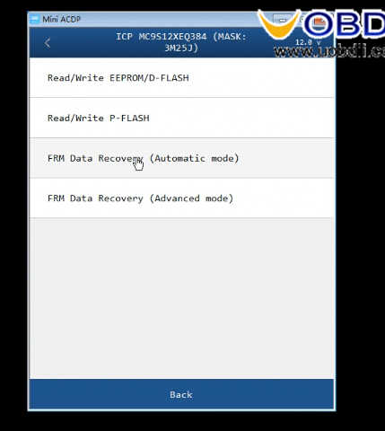 How to RepairRecovery BMW FRM Data Trouble (5)