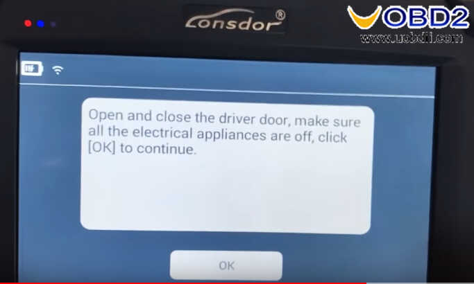 Lonsdor K518 Smart Key Programming for Chevrolet IMPALA 2014 (23)