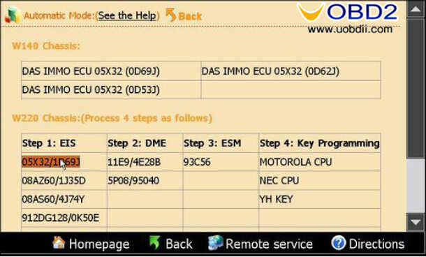 Yanhua Digimaster 3 Program Keys for Mercedes Benz W220 (2)
