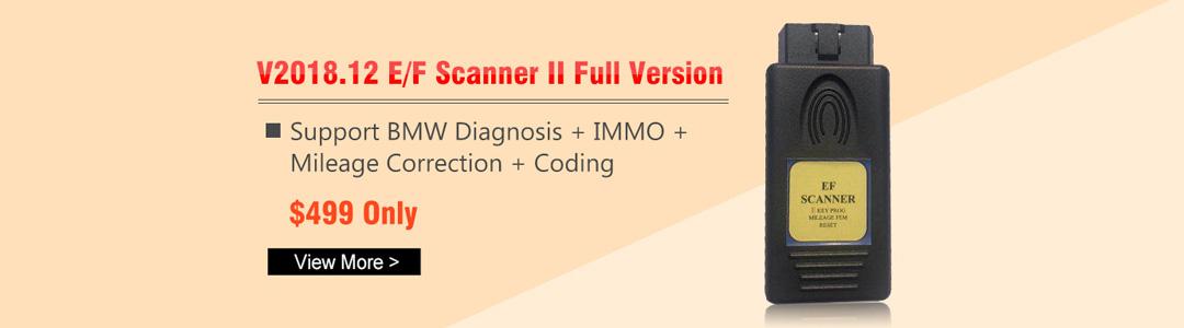 BMW E/F Scanner