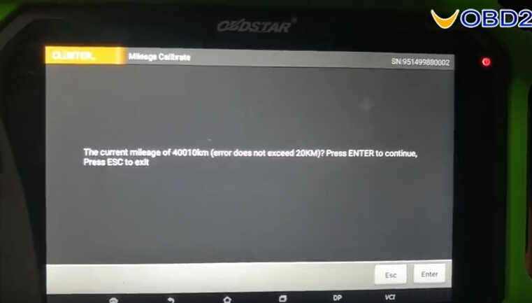 OBDSTAR X300 DP Plus Correct Odometer for Maserati Ghibli 2014-8