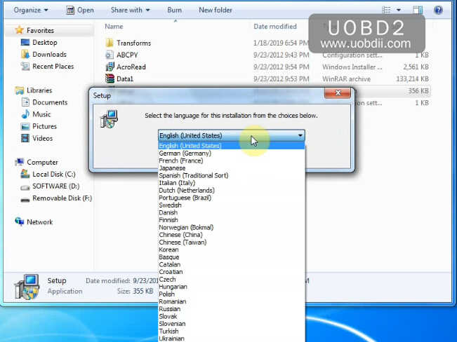 How to Install XProg-M V5.84 Software on Win7 (3)