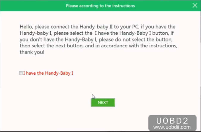 How to Register and Active Handy Baby 2 II (4)