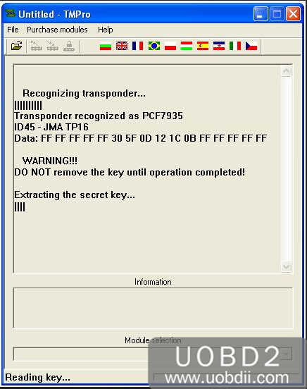 How to Use TMPro2 to Copy VAG ID44 PCF7935 (4)