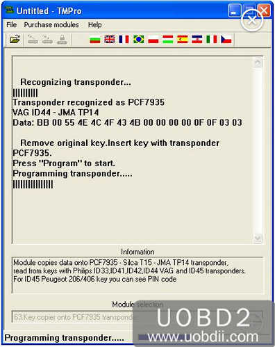 How to Use TMPro2 to Copy VAG ID44 PCF7935 (6)