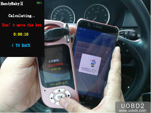 JMD Handy Baby 2 to Decode & Adding New BMW 525 ID46 Key (6)