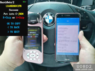 JMD Handy Baby 2 to Decode & Adding New BMW 525 ID46 Key (7)