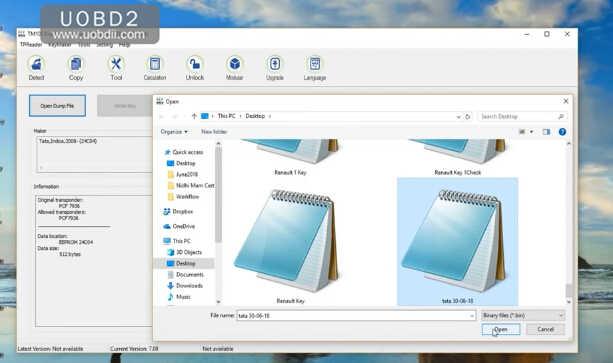 Program Keys for Indian TATA 24C04 with UPA & TM100 Programmer (11)
