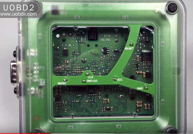 VVDI Prog+W209211 ZGW Adapter Read Benz W209 ST12 (4)
