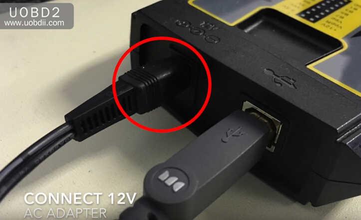 VVDI Prog+W209211 ZGW Adapter Read Benz W209 ST12 (6)