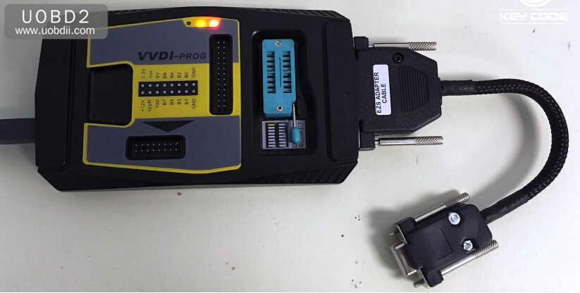 VVDI Prog+W209211 ZGW Adapter Read Benz W209 ST12 (8)
