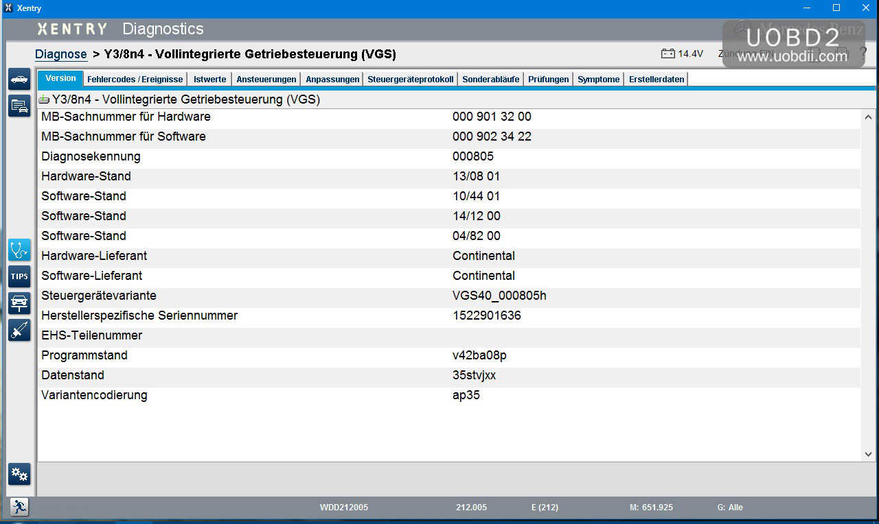 Mercedes VGS Programming: Xentry/DAS Possible? |Car Diagnostic Tool
