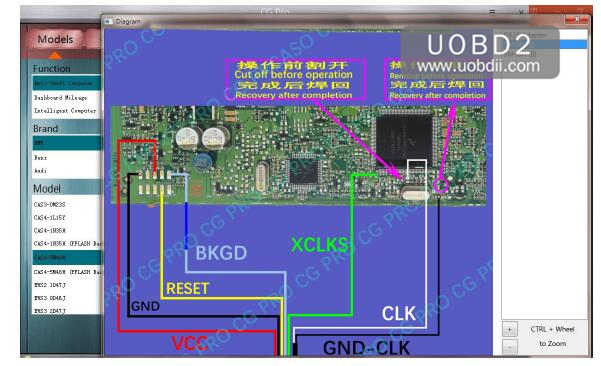 How to Program BMW CAS4+ All Key Lost by CGDI BMW (3)