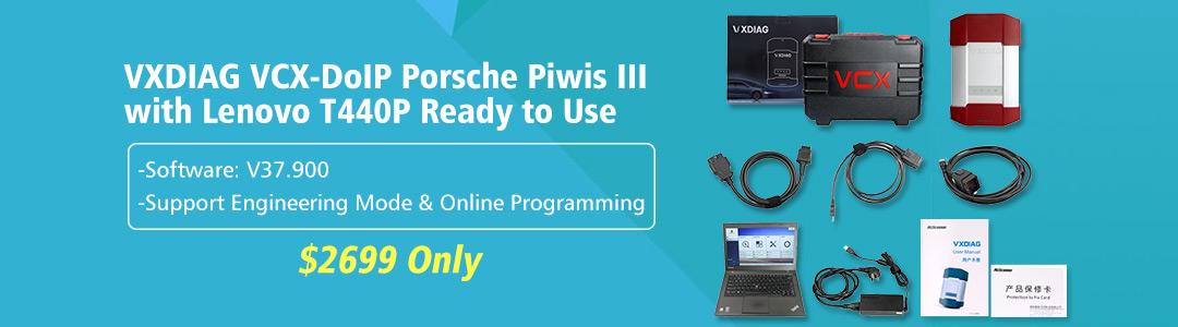 VXDIAG VCX-DoIP Porsche Piwis III