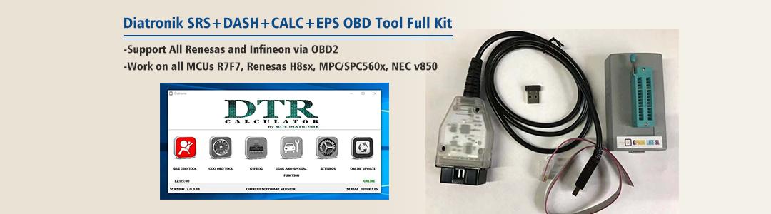 Diatronik SRS+DASH+CALC+EPS OBD Tool