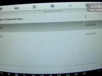 Autel MaxiIM IM608 Add New Smart Keys for Volvo XC60 (17)