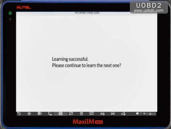 Autel IM608 All Keys Lost Programming for Range Rover Evoque 2013 (16)