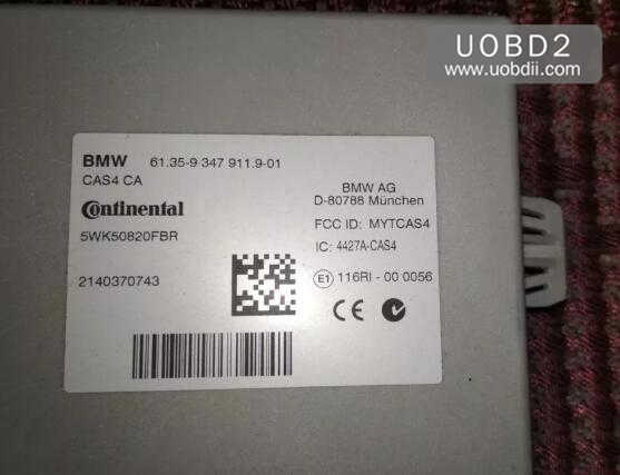 BMW 535Li 2014 160DOWT Odometer Correction by CG Pro9S12 (12)