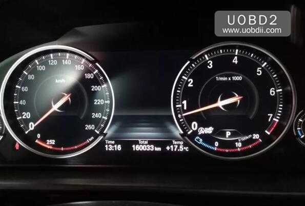 BMW 535Li 2014 160DOWT Odometer Correction by CG Pro9S12 (2)
