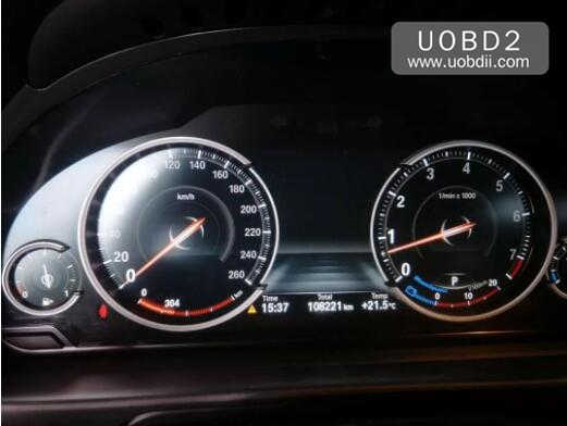 BMW 535Li 2014 160DOWT Odometer Correction by CG Pro9S12 (25)