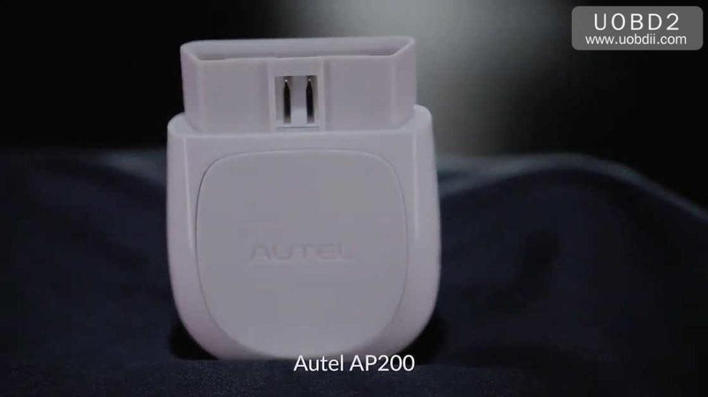 Autel MaxiAP AP200 OBDII scanner registration, download and