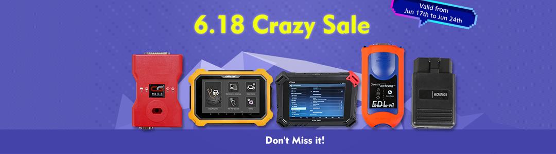 UOBD2 6.18 Crazy Sale