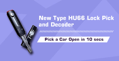 New Type HU66 Lock Pick and Decoder Can Pick a Car Open in 10 Seconds