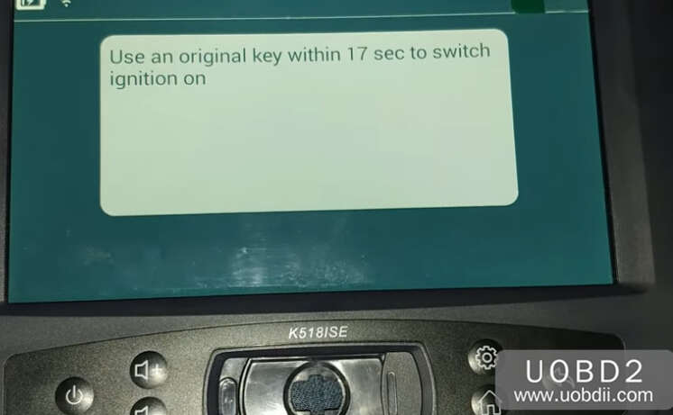 Lonsdor K518S Add New Key for Honda CR-V 2015 (16)