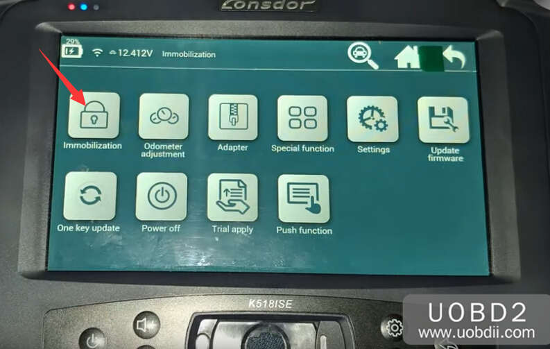 Lonsdor K518S Add New Key for Honda CR-V 2015 (2)