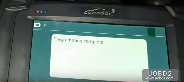 Lonsdor K518S Add New Key for Honda CR-V 2015 (27)