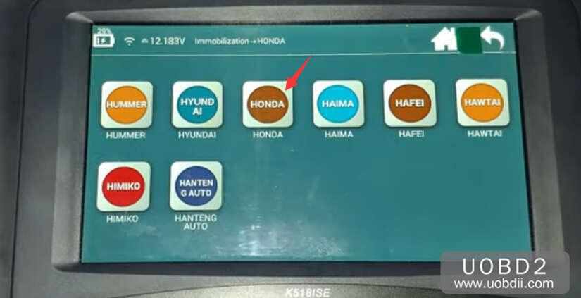 Lonsdor K518S Add New Key for Honda CR-V 2015 (3)