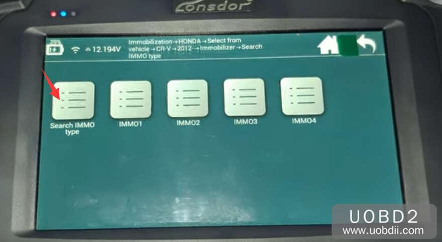 Lonsdor K518S Add New Key for Honda CR-V 2015 | Car Key
