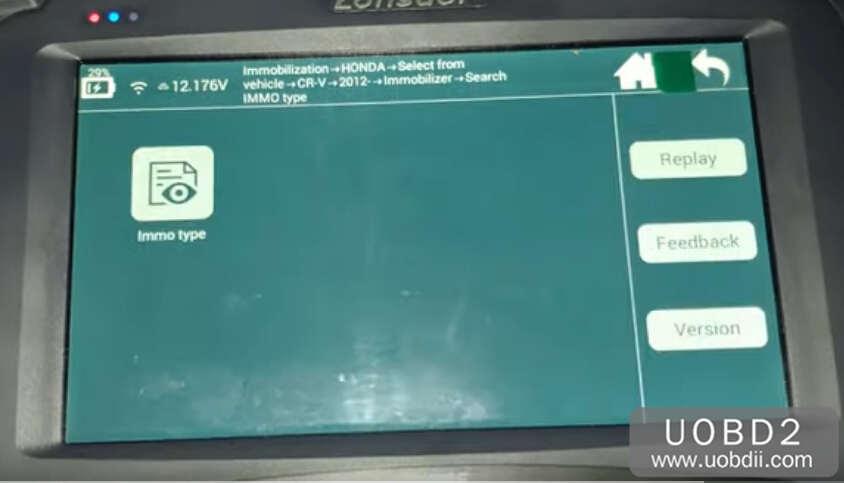 Lonsdor K518S Add New Key for Honda CR-V 2015 (9)