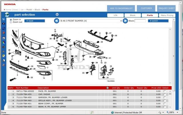 Honda EPC 2018 Download Free for HDS HIM Diagnosis