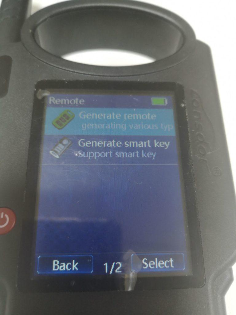 lonsdor-kh100-generate key-10
