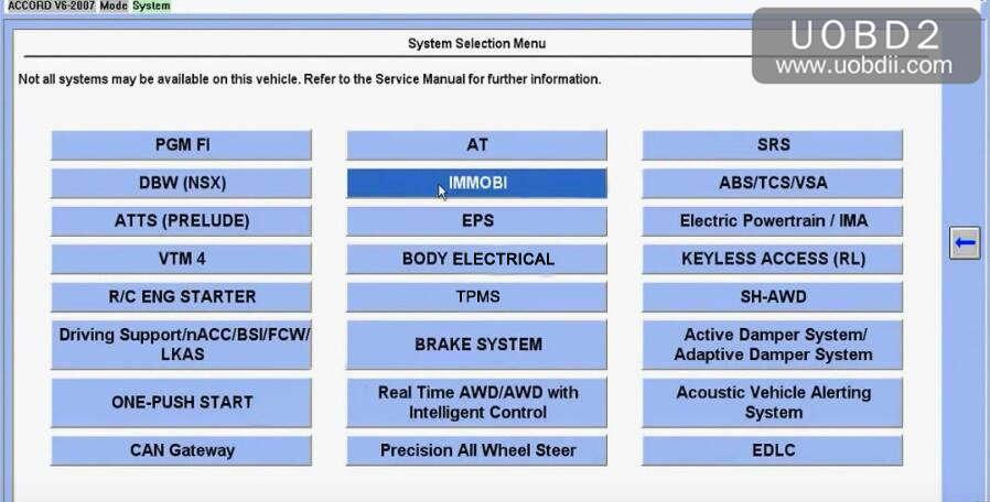 Honda-HDS-HIM-Accord-V6-2007-all-keys-lost-1