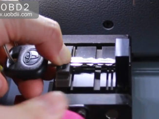 SEC-E9 Key Cutting Machine Cut Toyota TOY43 Key (10)
