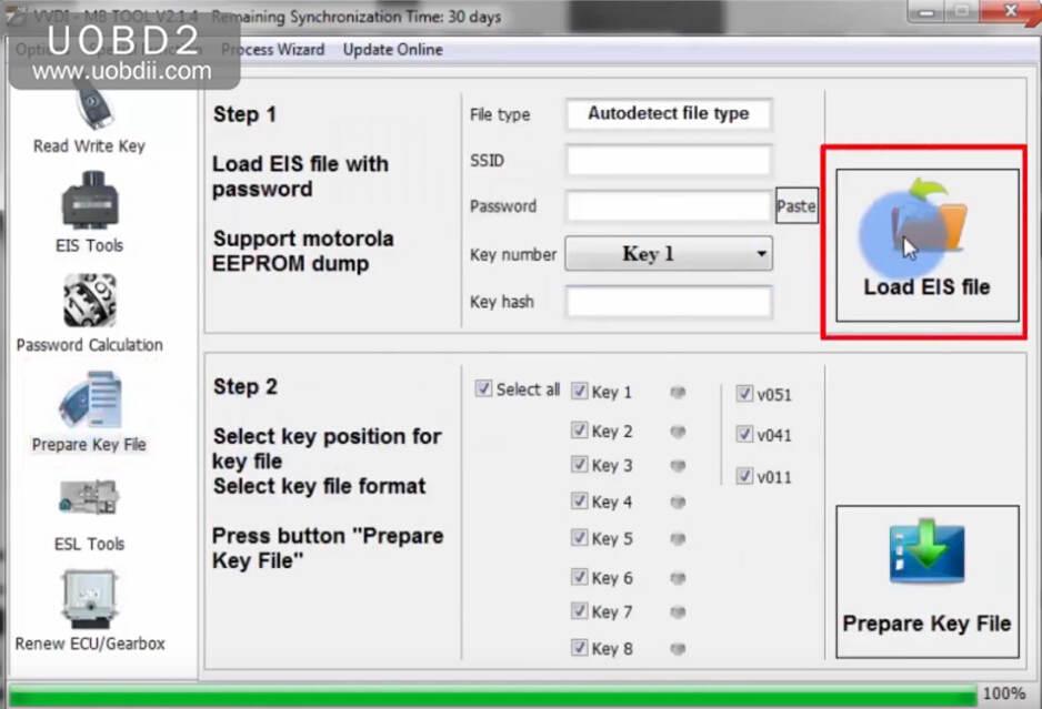 VVDI MB Tool All Keys Lost Programming for Benz W204 w207 (21)