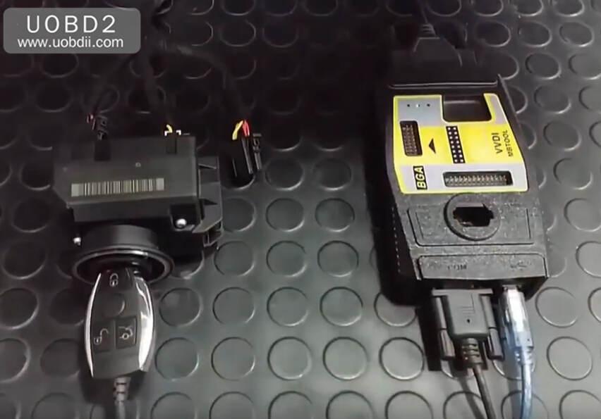VVDI MB Tool All Keys Lost Programming for Benz W204 w207 (8)