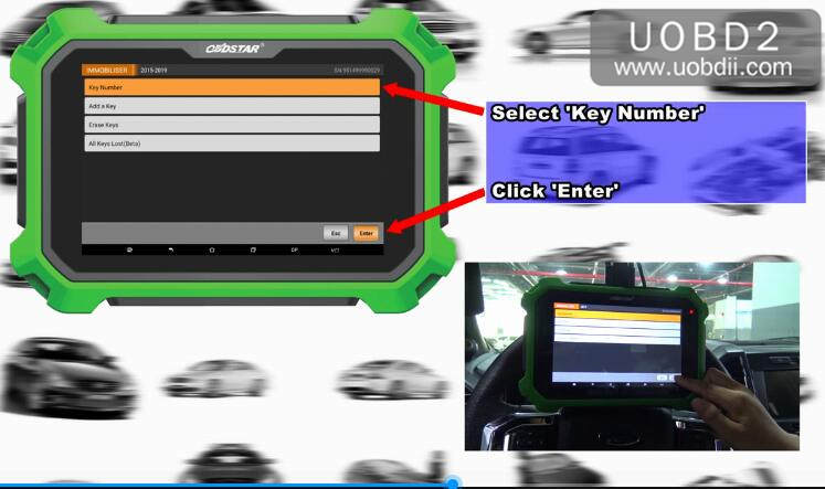 Ford F150 2016 Key Programming by OBDSTAR X300 DP Plus (10)