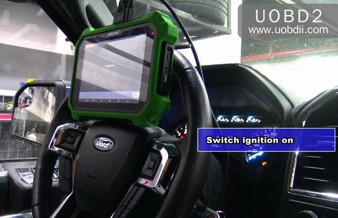 Ford F150 2016 Key Programming by OBDSTAR X300 DP Plus (13)