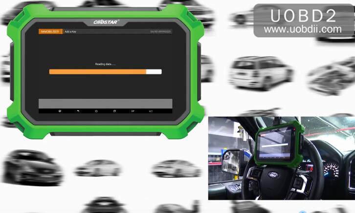 Ford F150 2016 Key Programming by OBDSTAR X300 DP Plus (15)