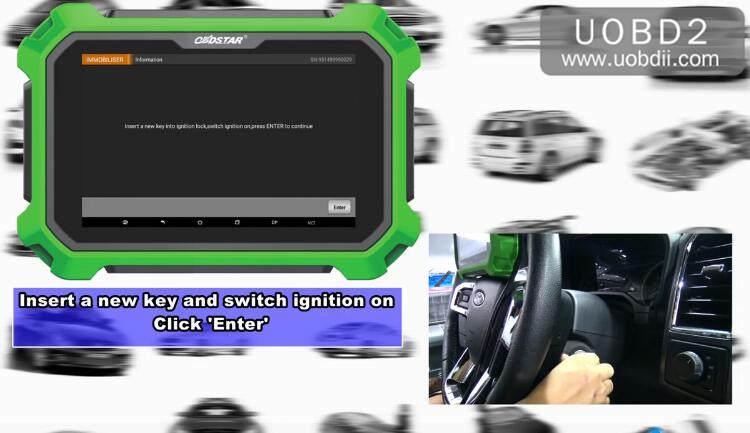 Ford F150 2016 Key Programming by OBDSTAR X300 DP Plus (16)