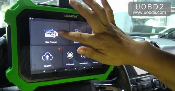 Ford F150 2016 Key Programming by OBDSTAR X300 DP Plus (3)