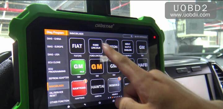 Ford F150 2016 Key Programming by OBDSTAR X300 DP Plus (4)